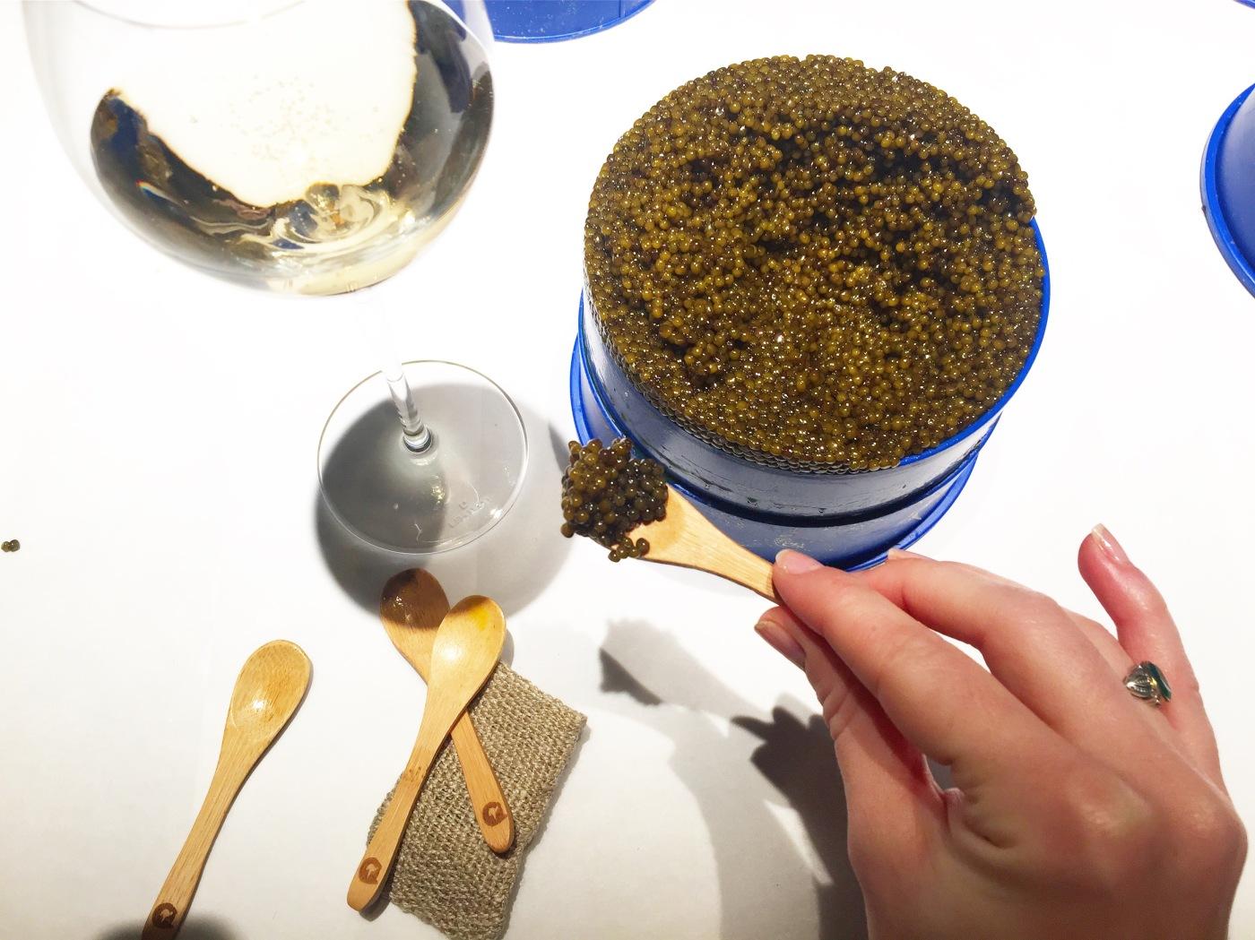 Manufacture Kaviari Dégustation Caviar